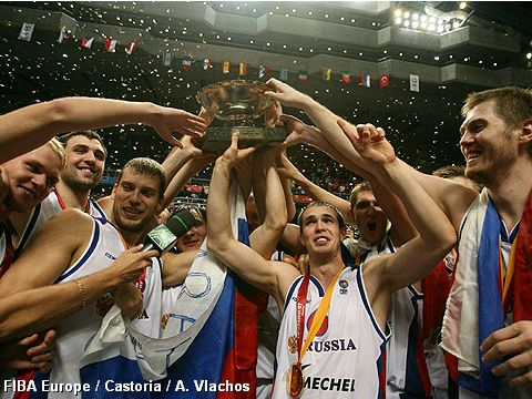 Team Russia European Champions 2007